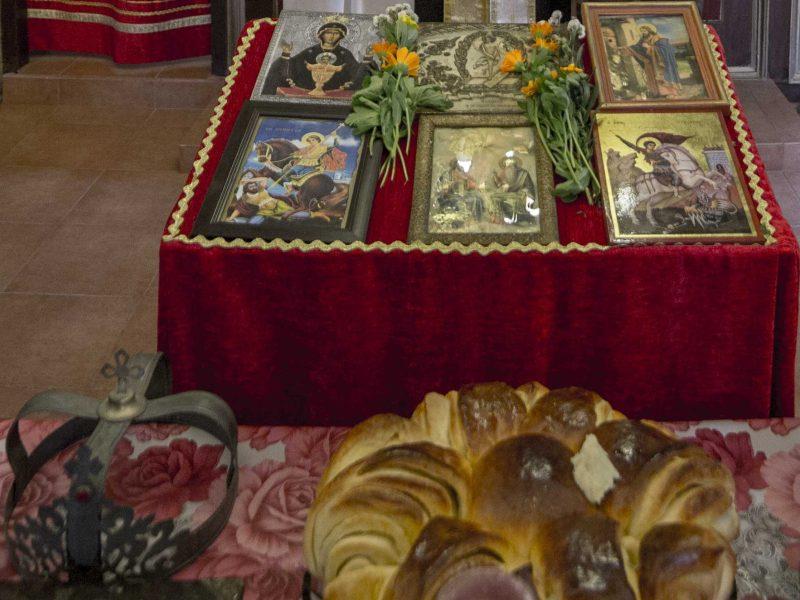 Свето тайнство Венчание храм Свети Георги Кокаляне