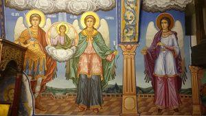 Свети Архангели Михаил, Гавраил,Рафаил