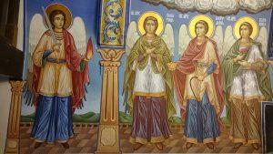 Свети Архангел Уриил, Свети Архангел Салатиил, Свети Архангел Йехудиил, Свети Архангел Варахиил